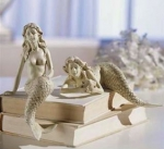 Mermaid Shelf Sitter Sculptures