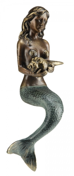 Mermaid with Sea Shell Shelf Sitter