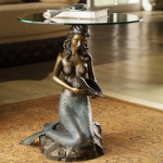 Mermaid with Sea Shell Table