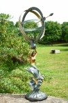 Mermaid & Dolphin Armillary Sphere