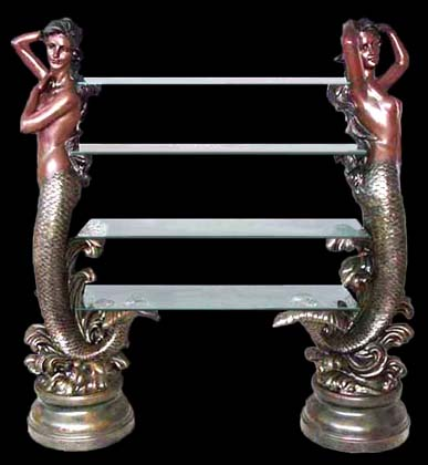LARGE Mermaid Deluxe Shelf Unit